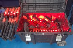 Red-Taggers Storage Elite Laser Tag Equipment