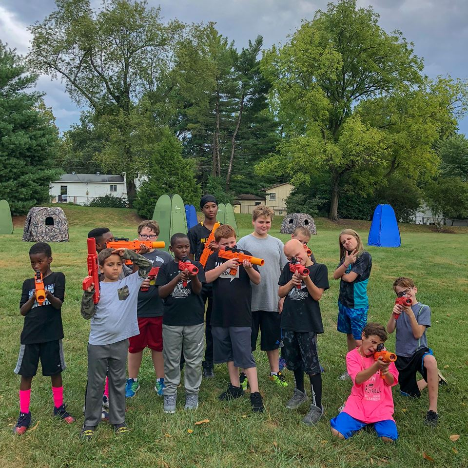Laser tag birthday party - laser tag business opportunity