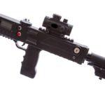 Razoraback black laser tag gun tagger by Elite Laser Tag