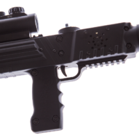 Black razorback laser tagger - Elite Laser Tag Equipment