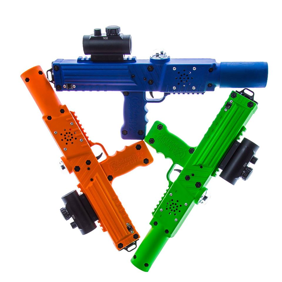 Razorback laser taggers - laser tag equipment for sale by Elite Laser Tag Equipment