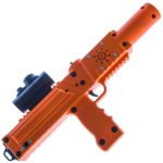 Orange razorback laser tag tagger rifle gun by Elite Laser Tag equipment