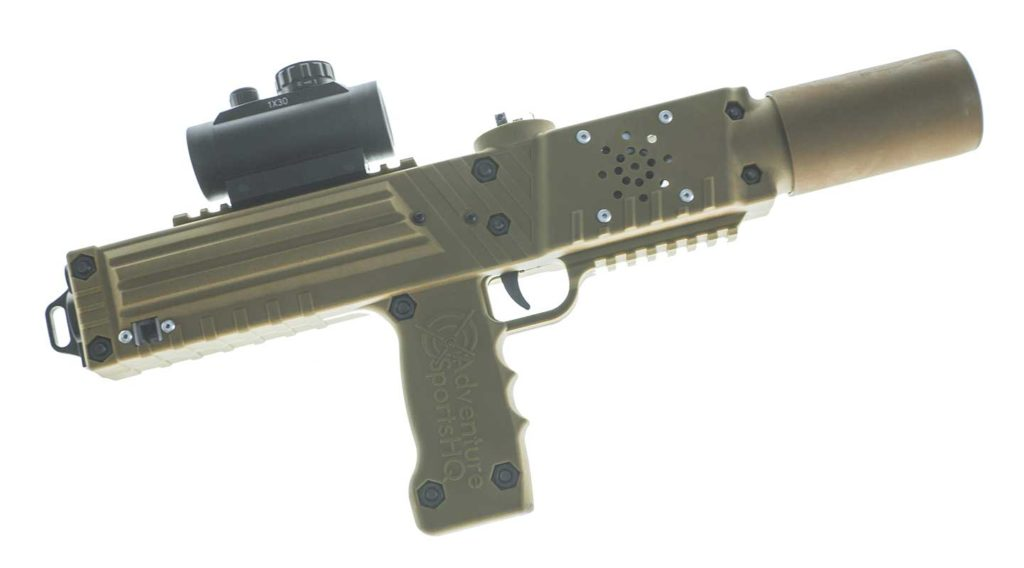 Coyote tan laser tagger - Elite Laser Tag Equipment