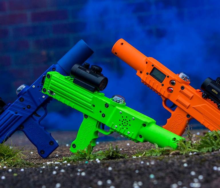 Laser tag equipment by Elite Laser Tag Equipment