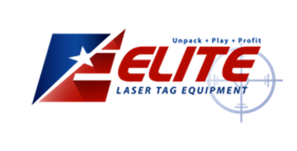 Elite Laser Tag logo - laser tag equipment sales and business training