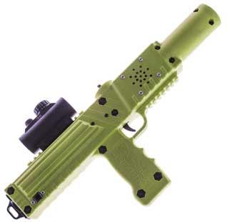 Olive drab green laser tagger - Elite Laser Tag Equipment