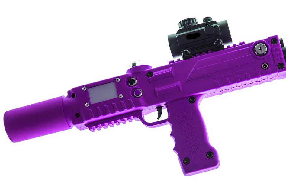 purple razorback laser tagger - Elite Laser Tag Equipment