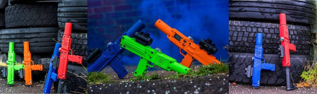 Razorback laser tag - laser tagger and business equipment for sale
