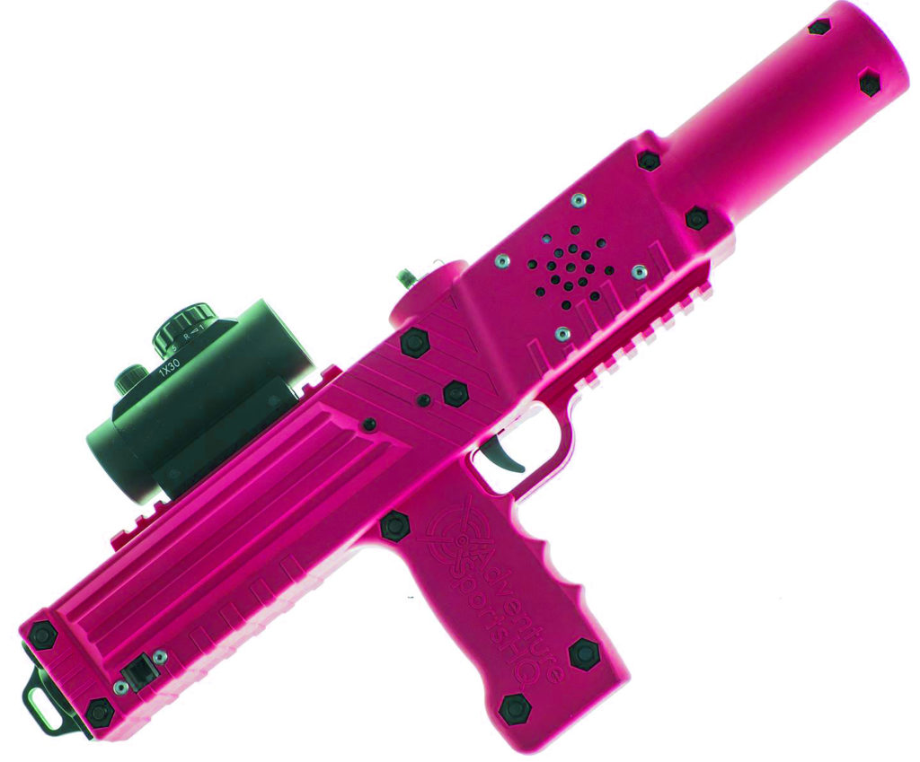 pink razorback laser tagger - Elite Laser Tag Equipment