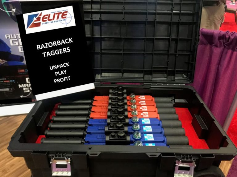 Laser taggers laser tag equipment by Elite Laser Tag